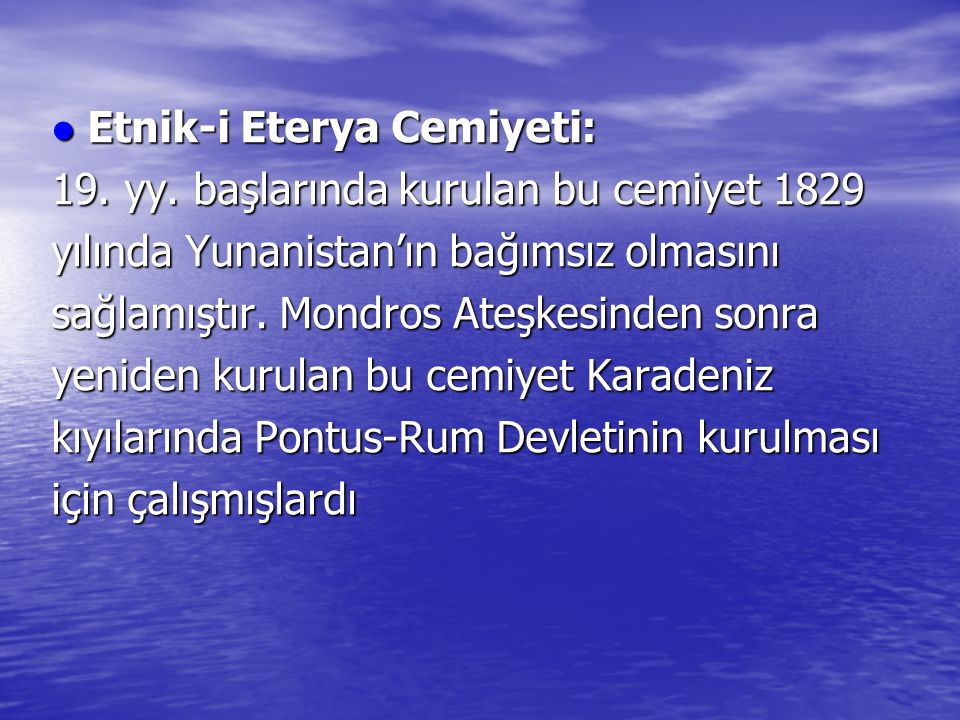Etnik-i Eterya Cemiyeti: