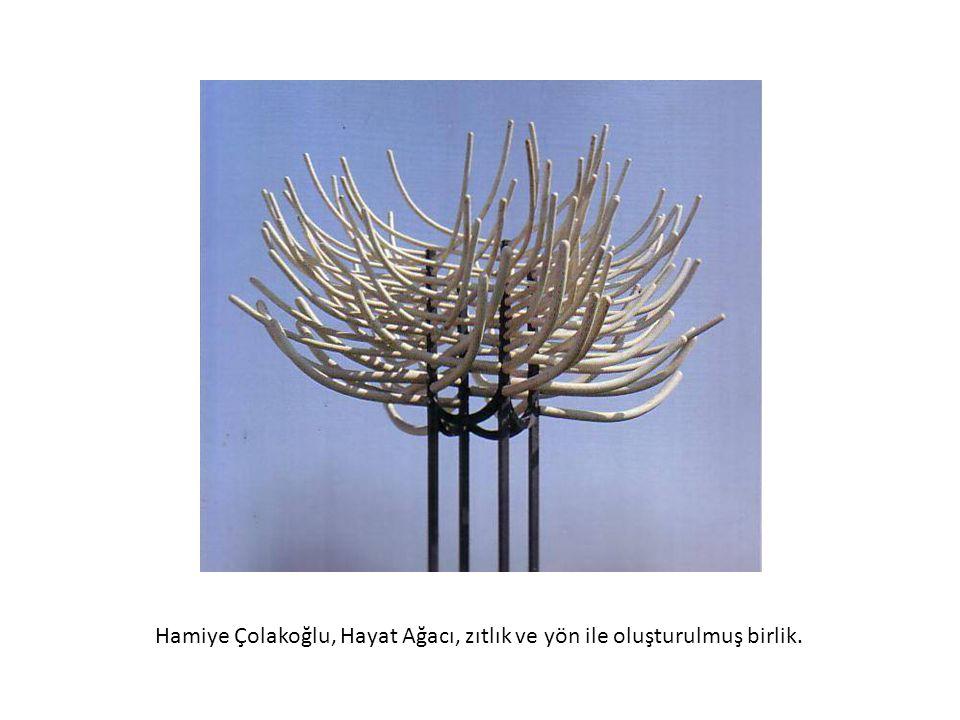 Hamiye Çolakoğlu, Hayat Ağacı, zıtlık ve yön ile oluşturulmuş birlik.