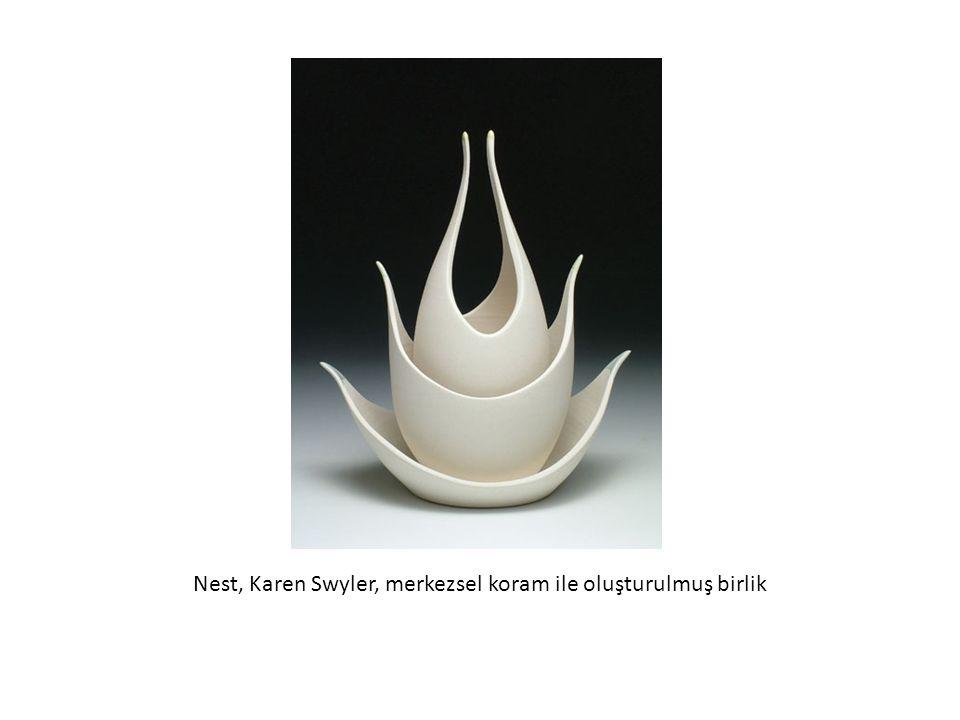 Nest, Karen Swyler, merkezsel koram ile oluşturulmuş birlik