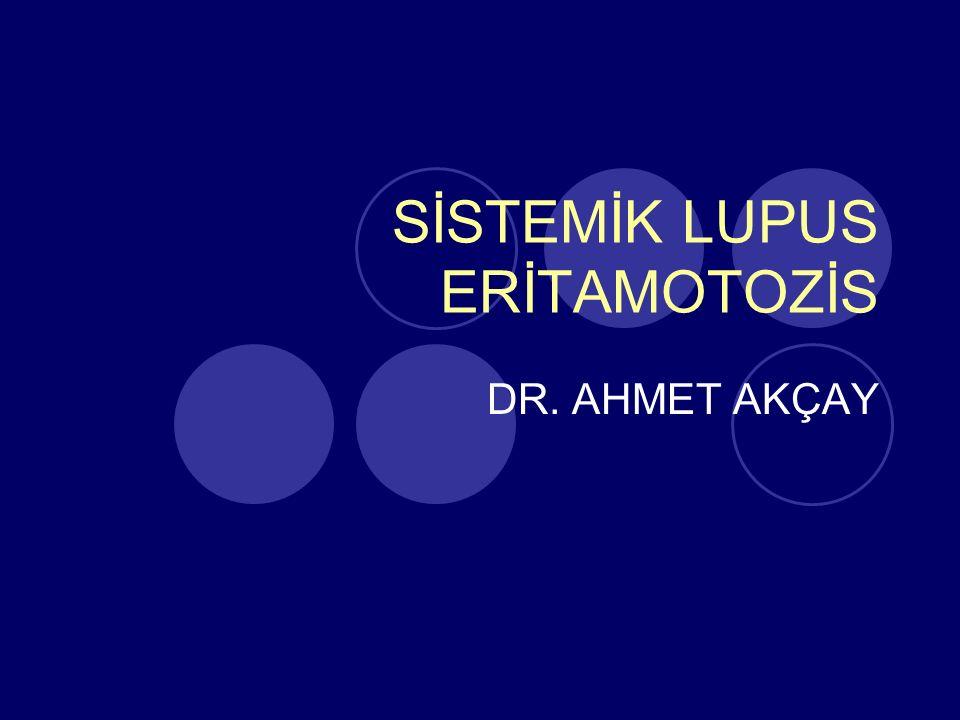 SİSTEMİK LUPUS ERİTAMOTOZİS
