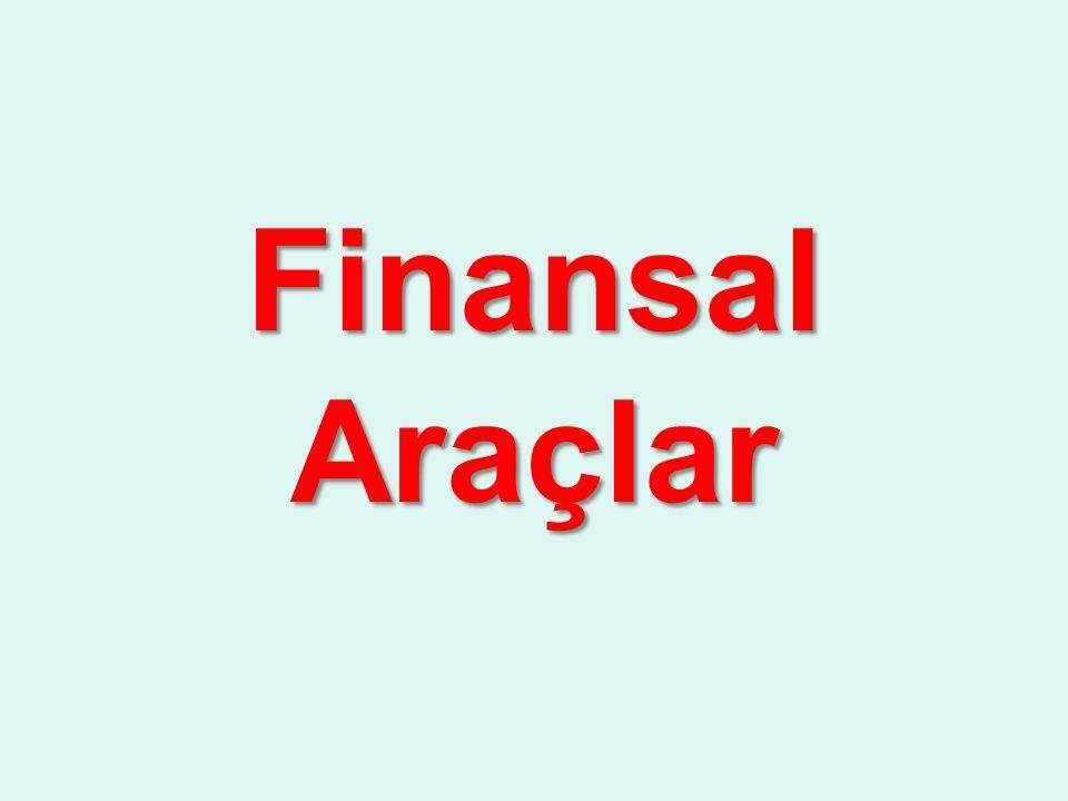 Finansal Araçlar