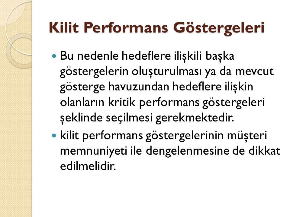 Kilit Performans Göstergeleri
