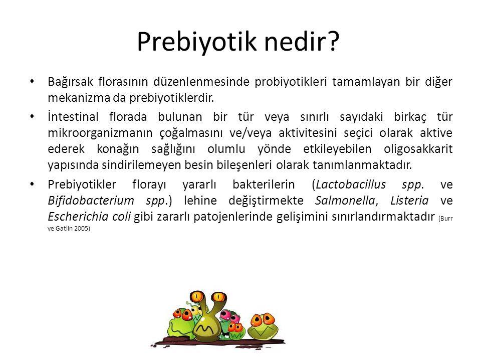Prebiyotik nedir Bağırsak florasının düzenlenmesinde probiyotikleri tamamlayan bir diğer mekanizma da prebiyotiklerdir.