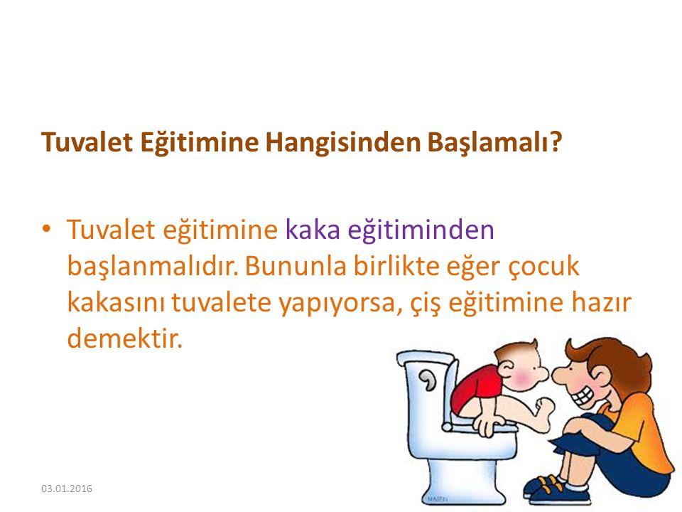 Tuvalet Eğitimine Hangisinden Başlamalı