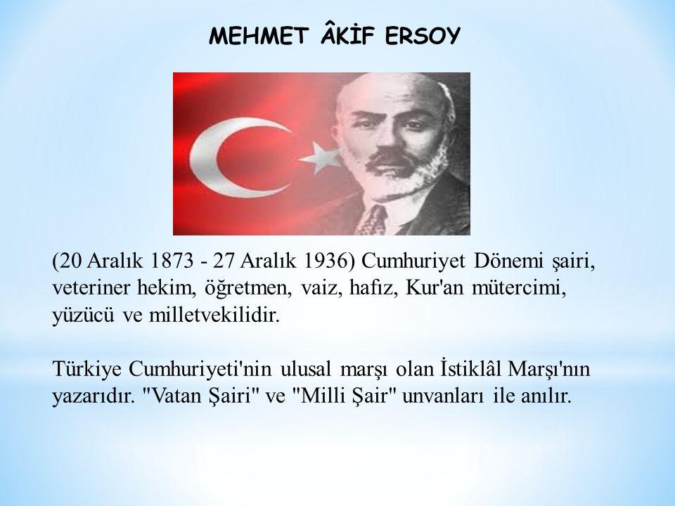 MEHMET ÂKİF ERSOY