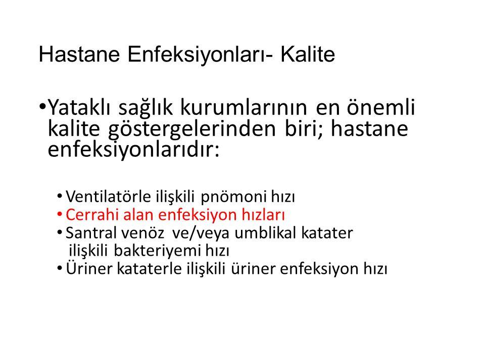 Hastane Enfeksiyonları- Kalite