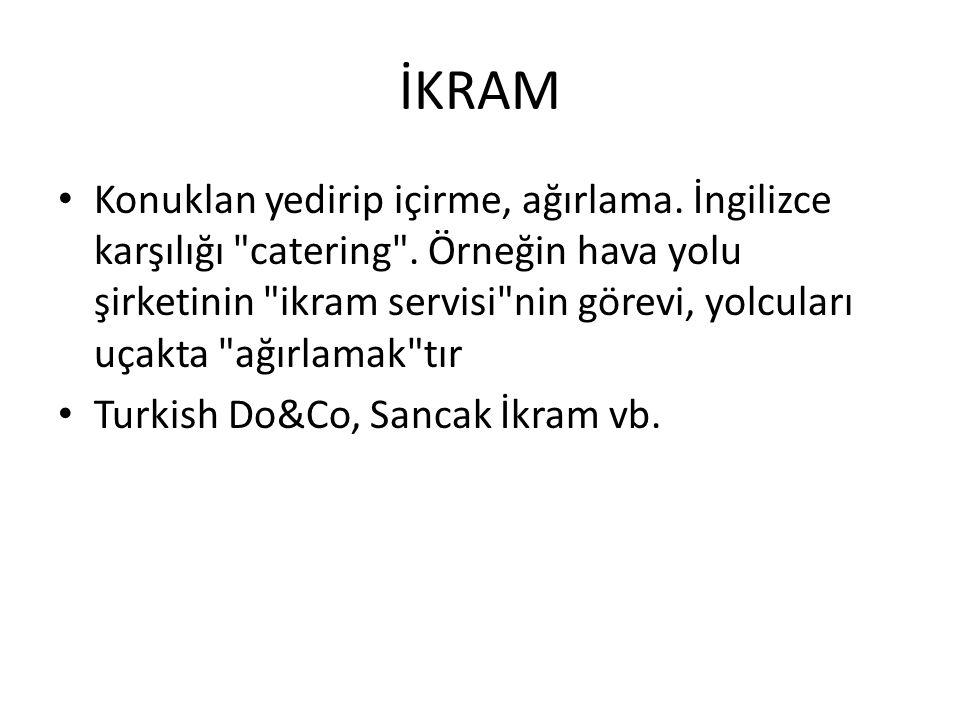 İKRAM