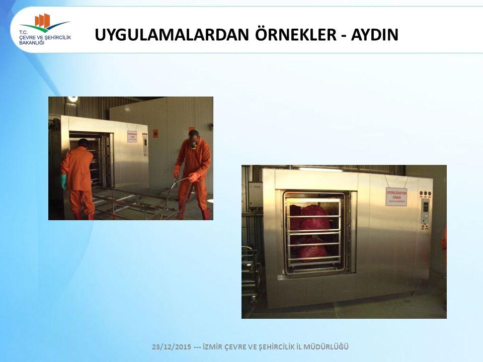 UYGULAMALARDAN ÖRNEKLER - AYDIN