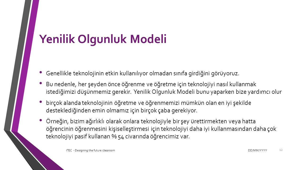 Yenilik Olgunluk Modeli