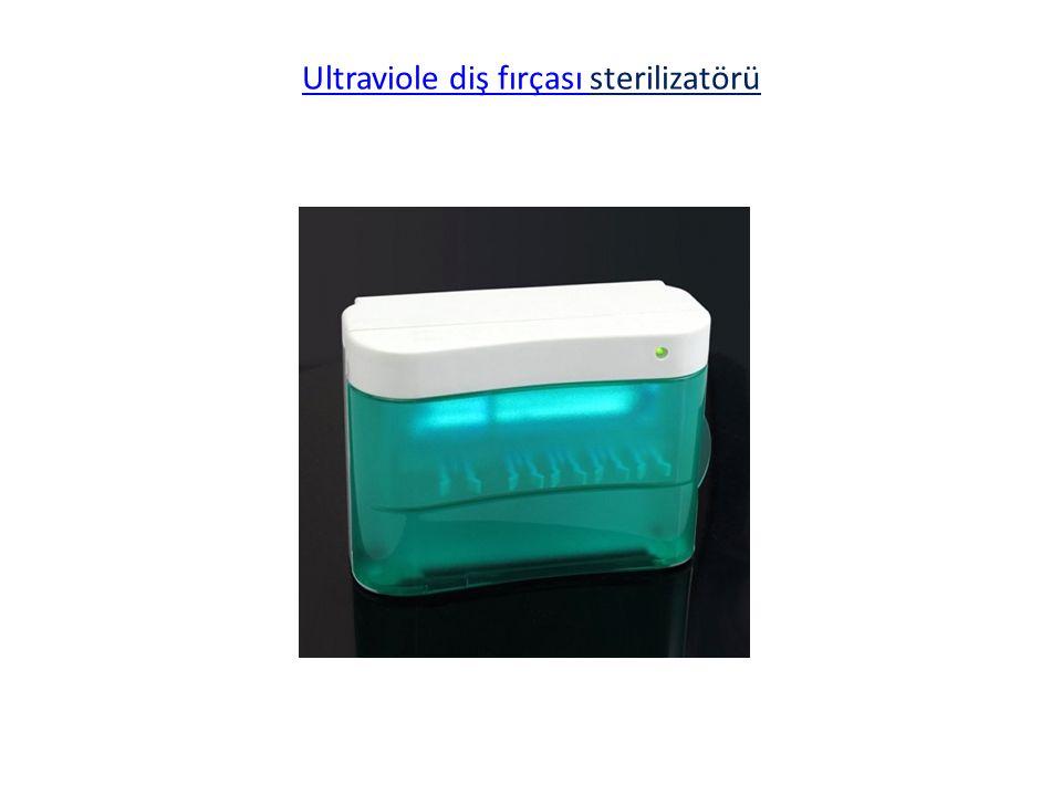 Ultraviole diş fırçası sterilizatörü