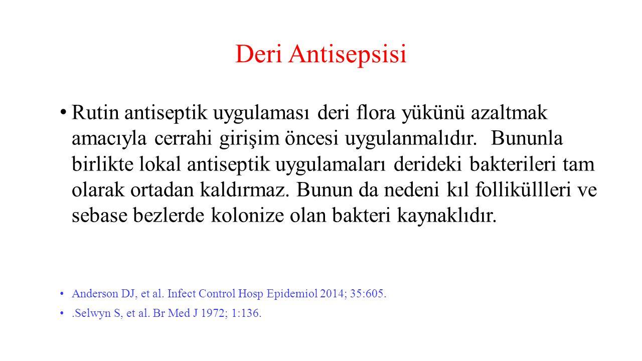 Deri Antisepsisi