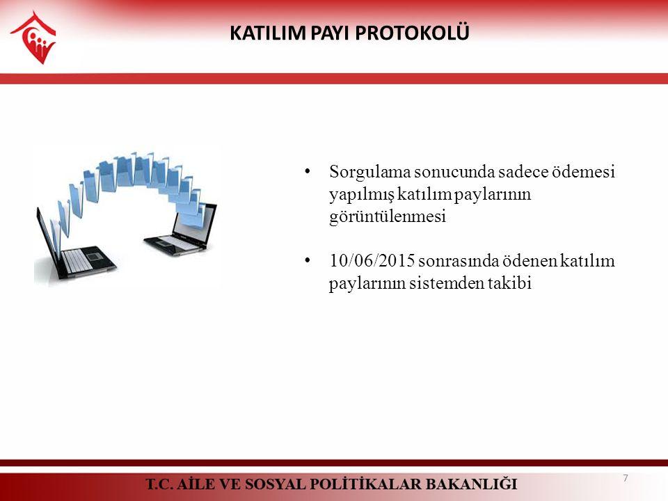 KATILIM PAYI PROTOKOLÜ