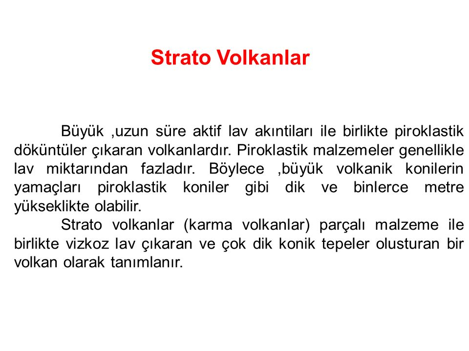 Strato Volkanlar