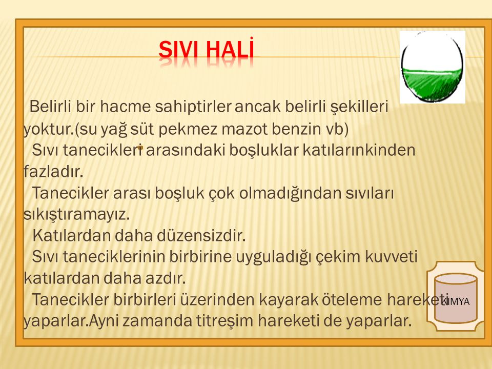SIVI HALİ