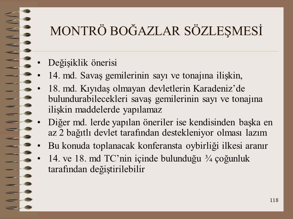 MONTRÖ BOĞAZLAR SÖZLEŞMESİ