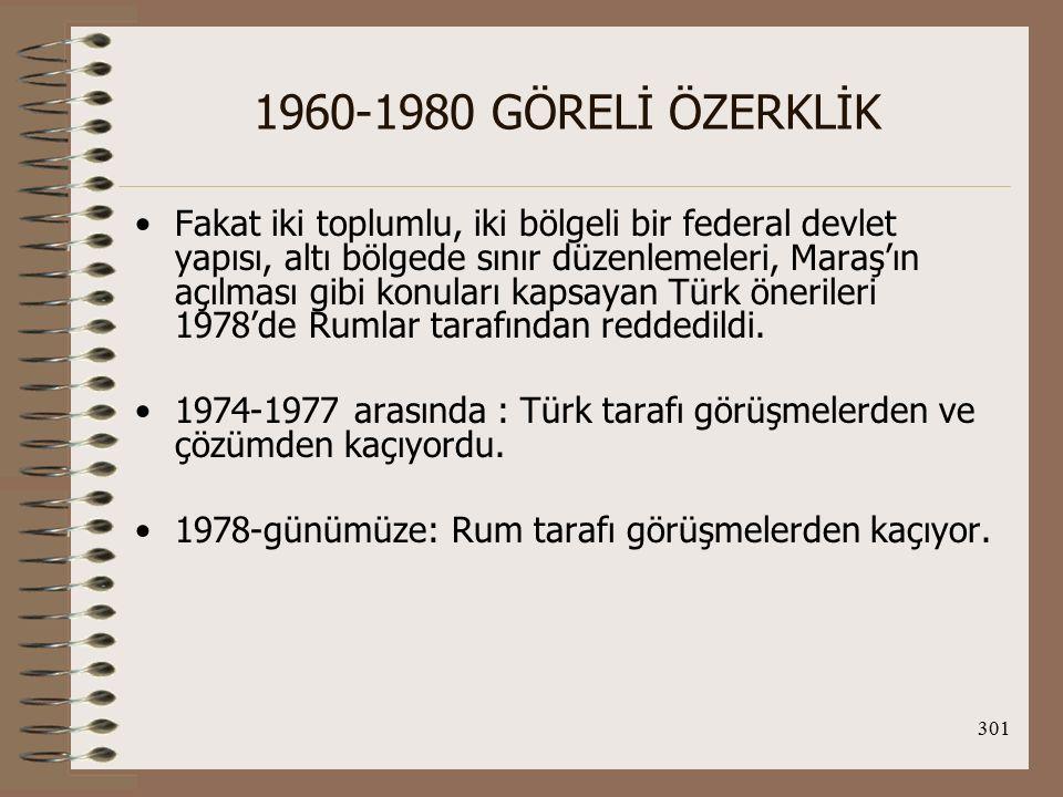 1960-1980 GÖRELİ ÖZERKLİK