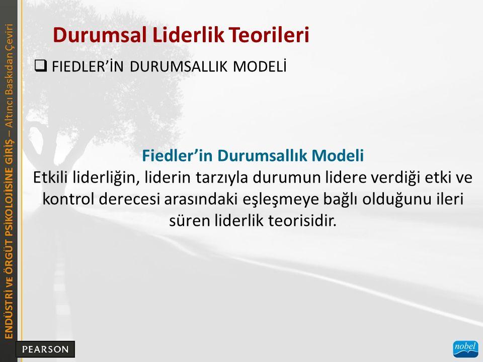 Fiedler'in Durumsallık Modeli