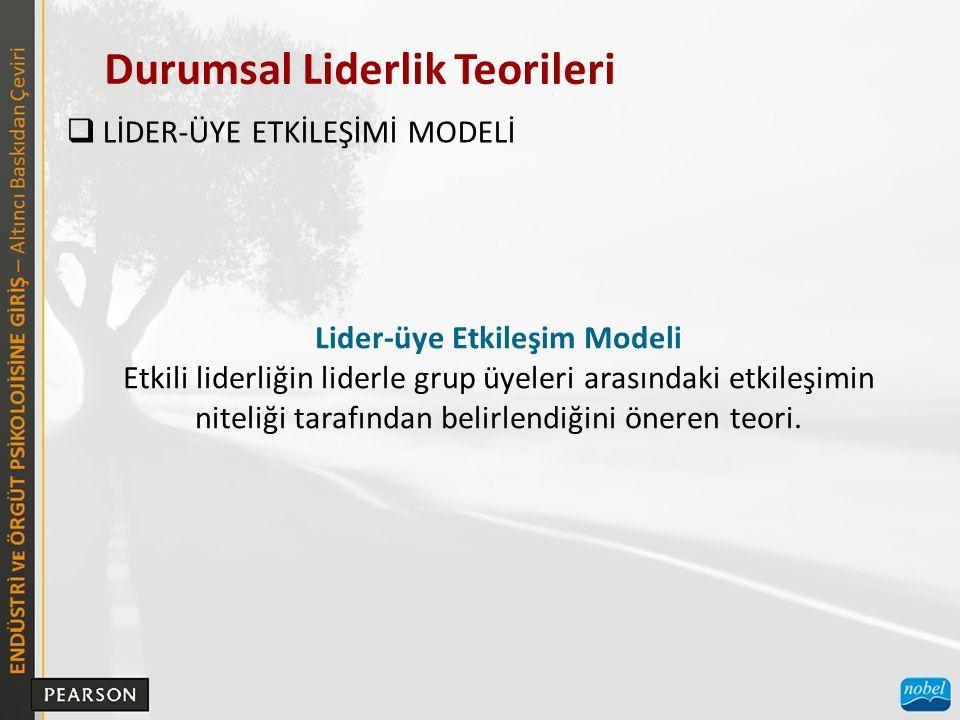 Lider-üye Etkileşim Modeli