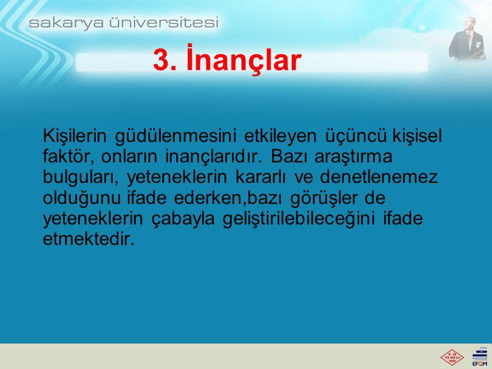 3. İnançlar