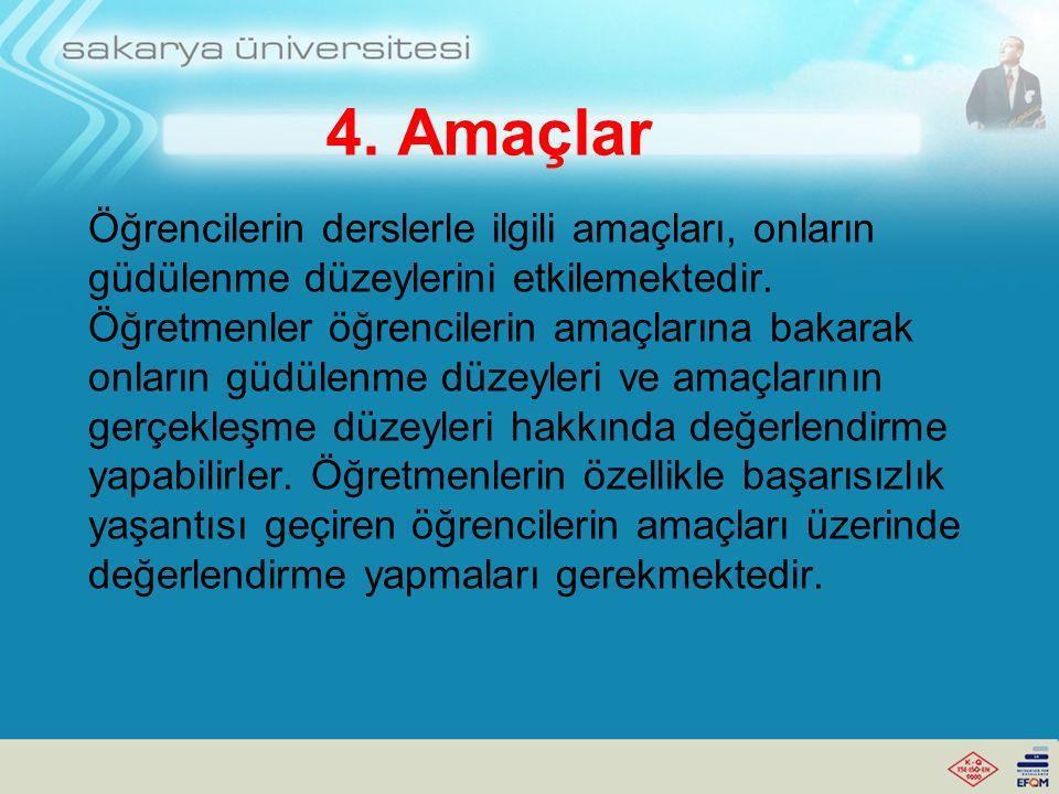4. Amaçlar