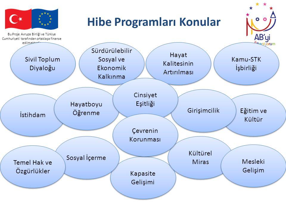 Hibe Programları Konular
