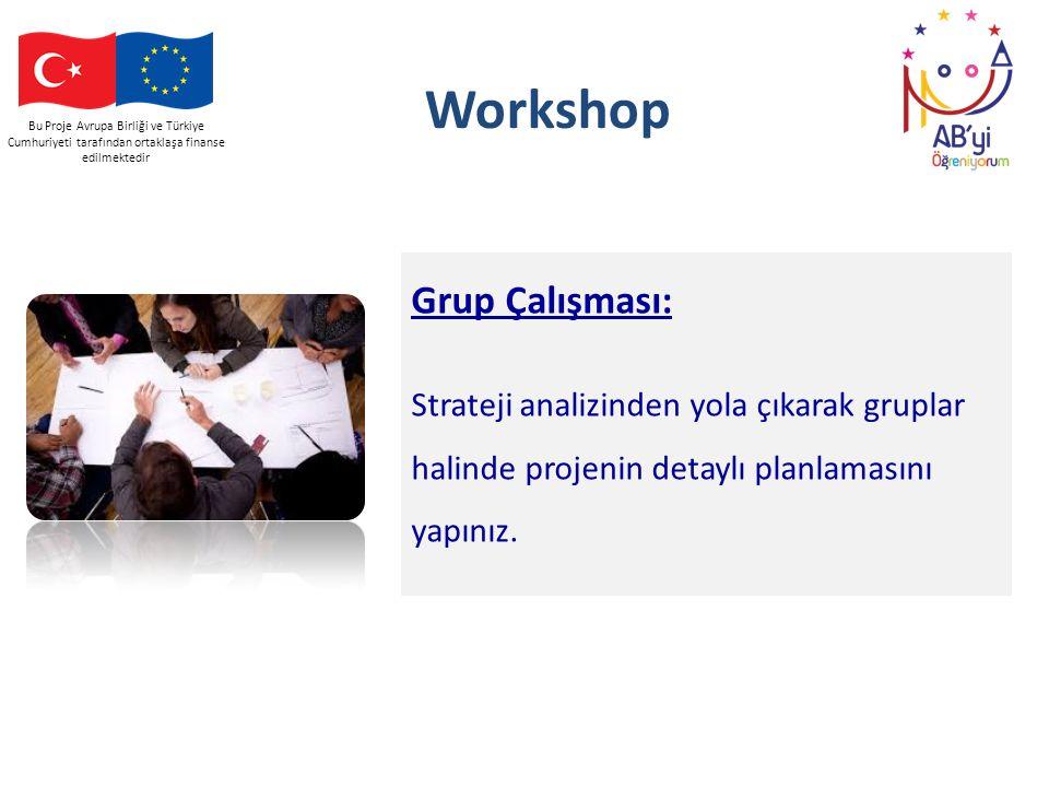 Workshop Grup Çalışması: