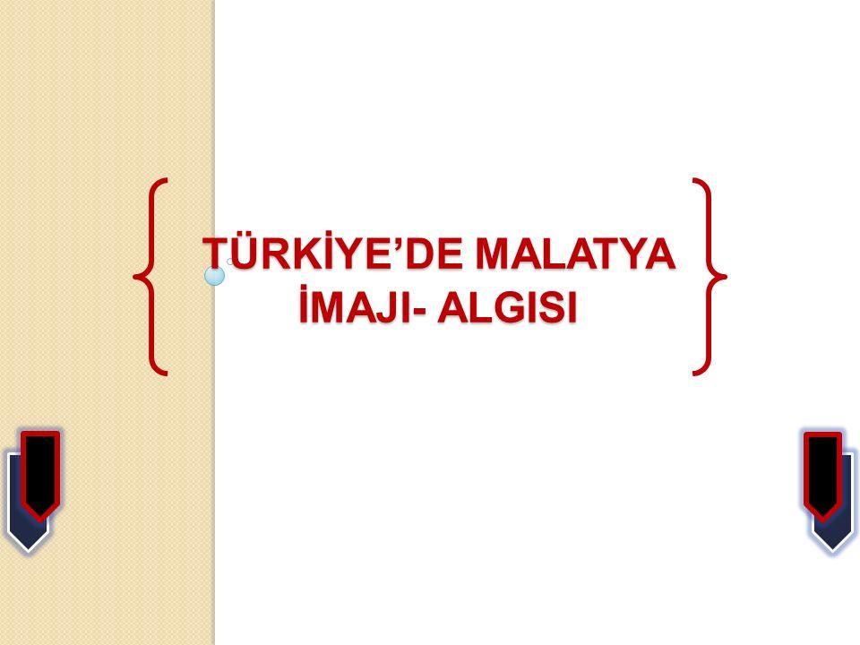 TÜRKİYE'DE MALATYA İMAJI- ALGISI