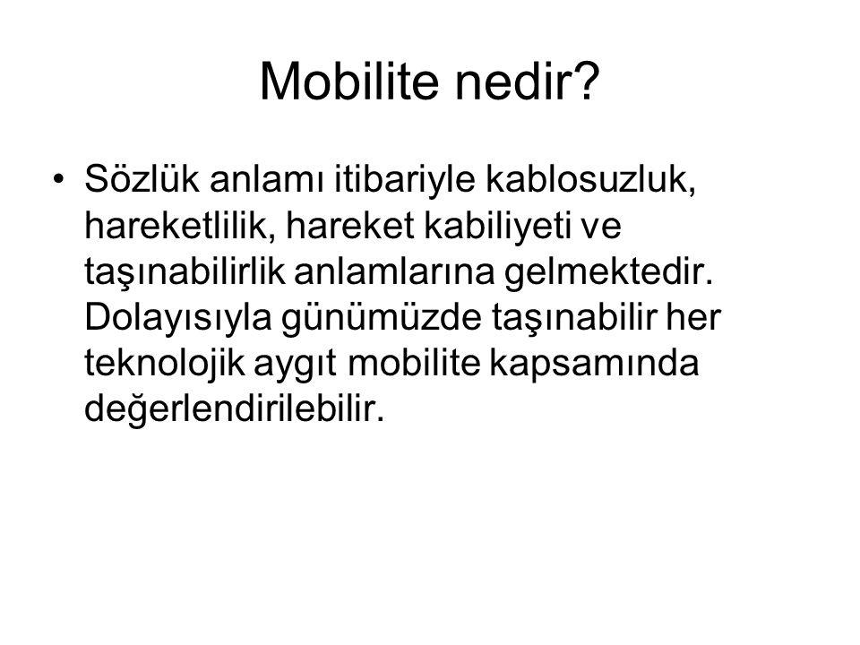 Mobilite nedir