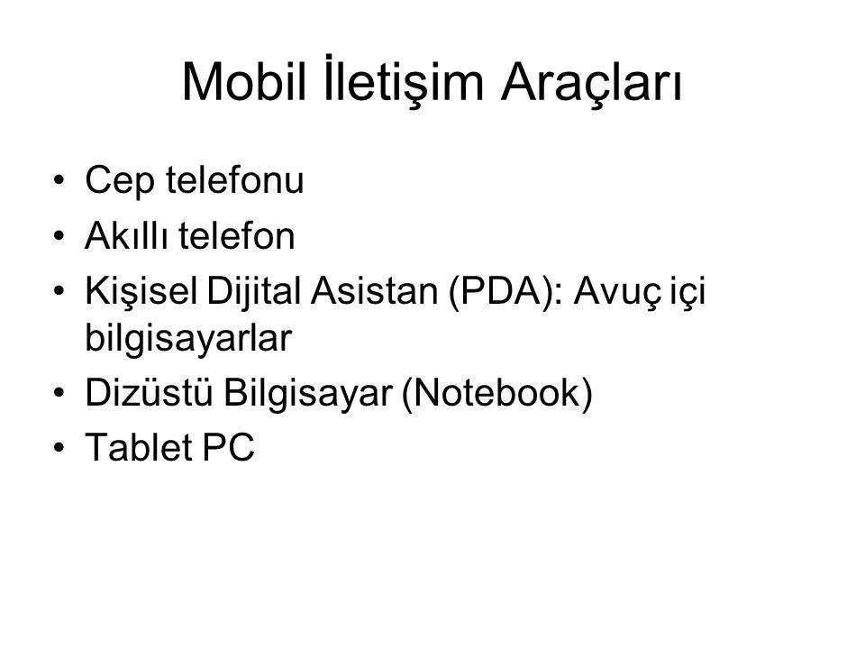 Mobil İletişim Araçları
