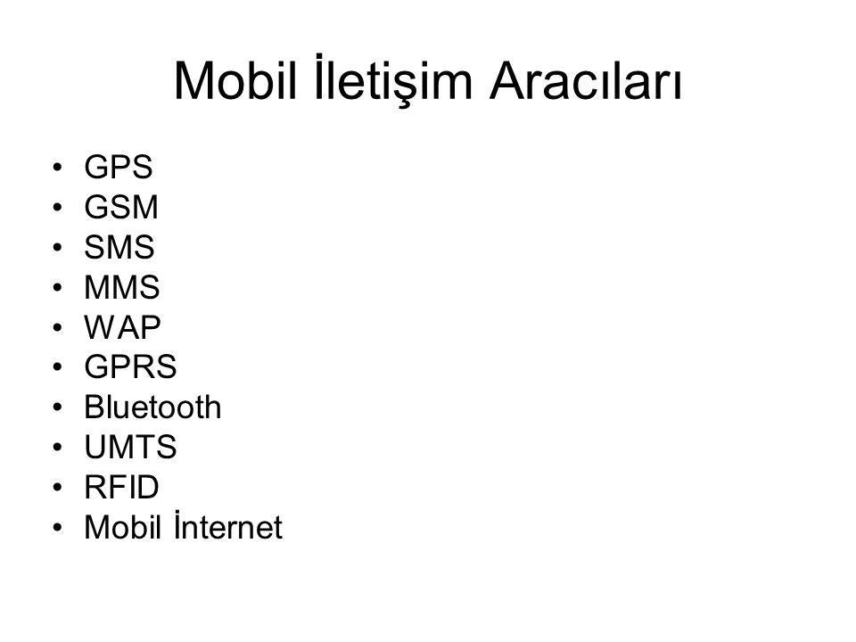 Mobil İletişim Aracıları