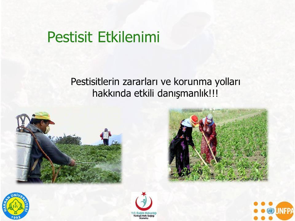 Pestisit Etkilenimi Pestisitlerin zararları ve korunma yolları hakkında etkili danışmanlık!!!