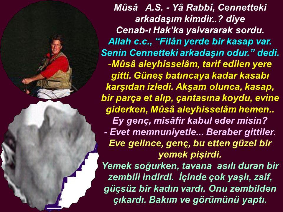 Mûsâ A. S. - Yâ Rabbî, Cennetteki arkadaşım kimdir