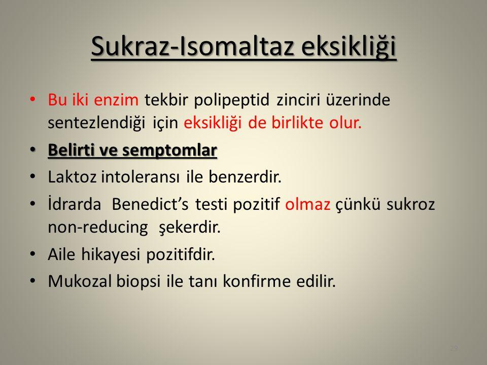 Sukraz-Isomaltaz eksikliği