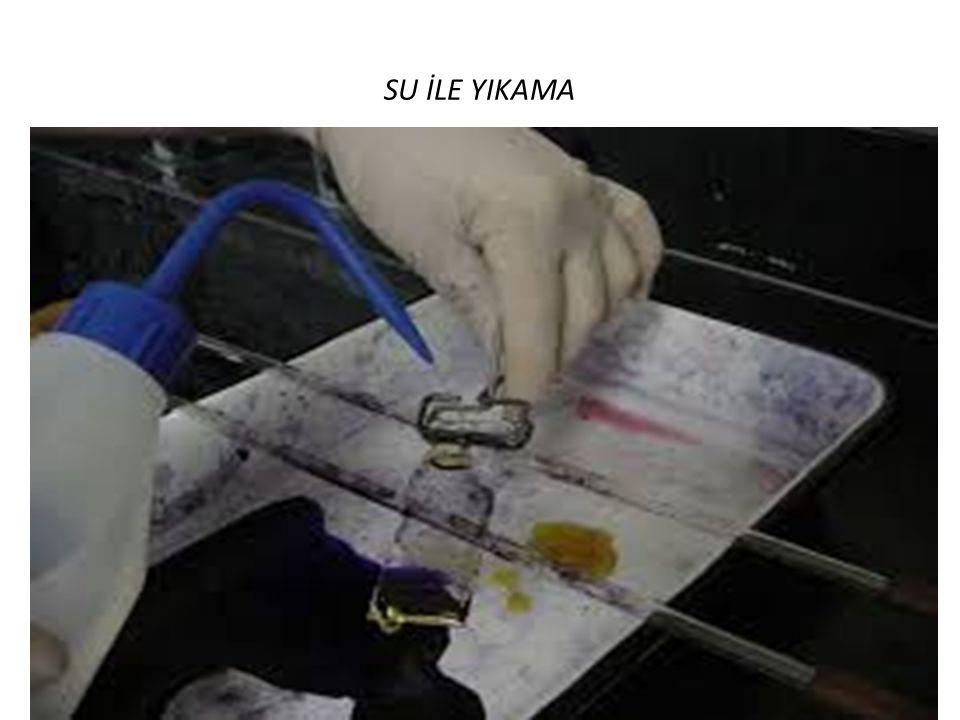 SU İLE YIKAMA