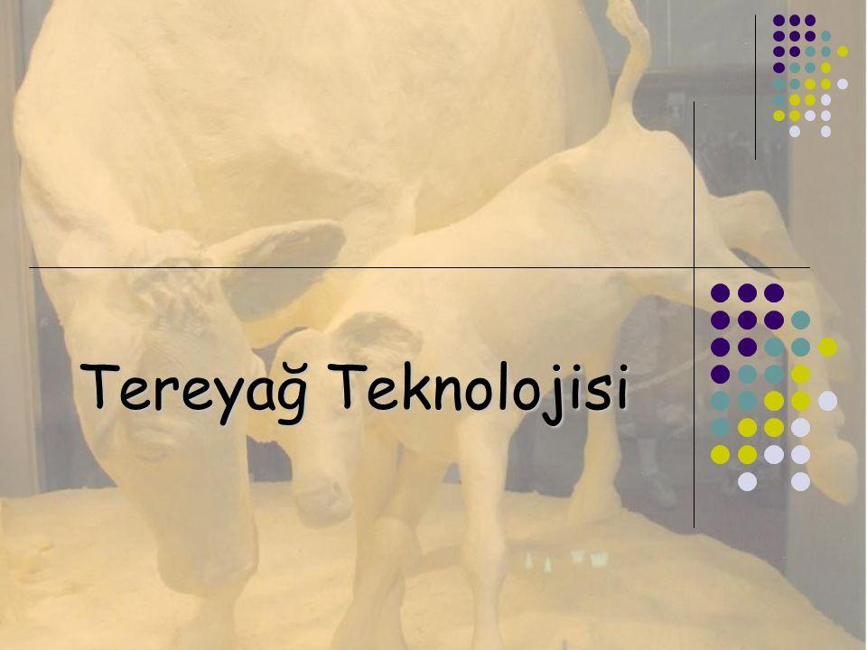 Tereyağ Teknolojisi