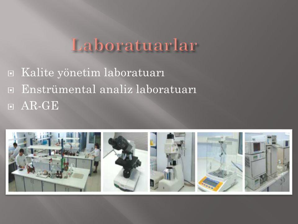 Laboratuarlar Kalite yönetim laboratuarı
