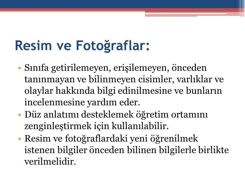 Resim ve Fotoğraflar: