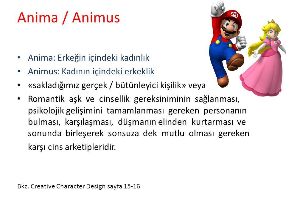 Anima / Animus Anima: Erkeğin içindeki kadınlık