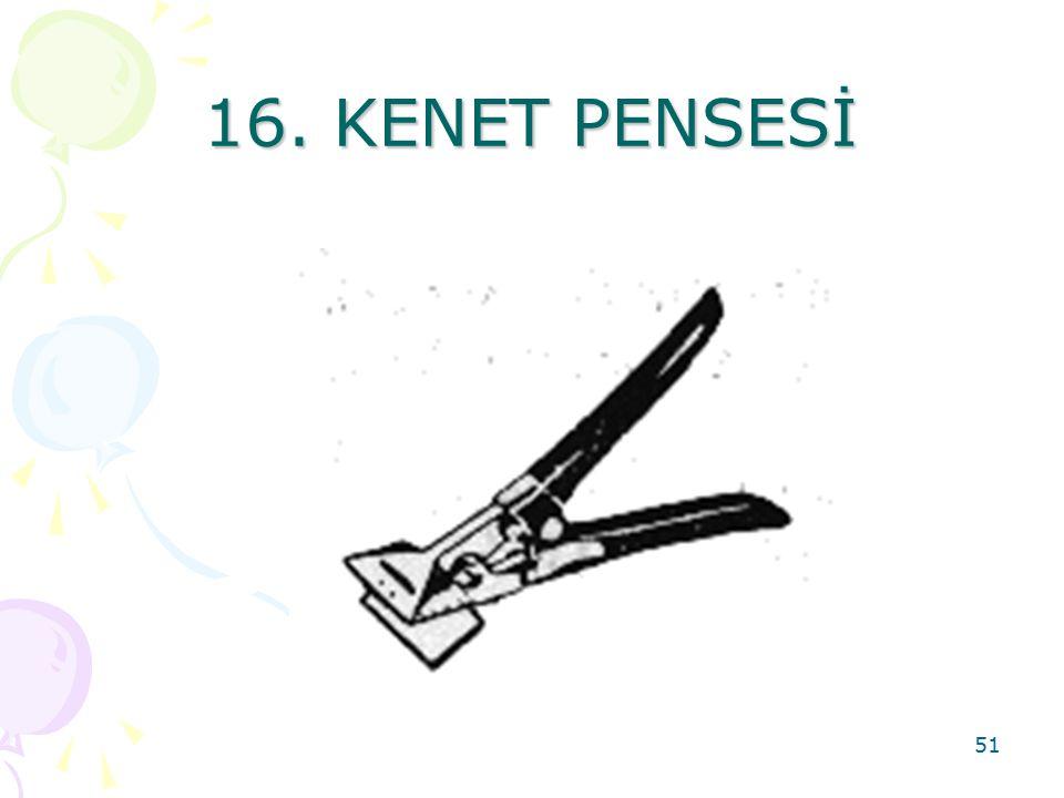 16. KENET PENSESİ