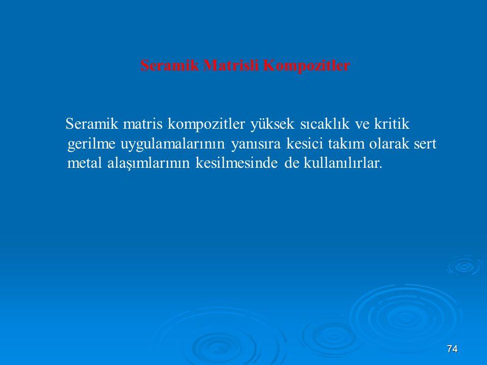 Seramik Matrisli Kompozitler