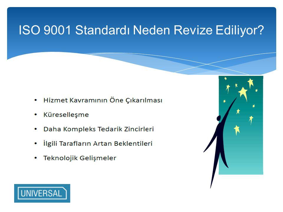 ISO 9001 Standardı Neden Revize Ediliyor
