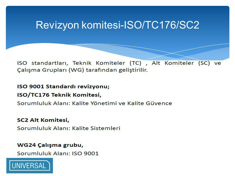 Revizyon komitesi-ISO/TC176/SC2
