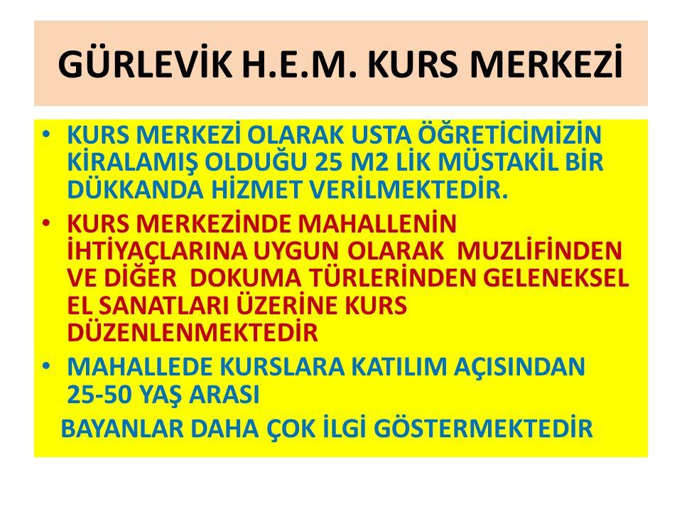 GÜRLEVİK H.E.M. KURS MERKEZİ