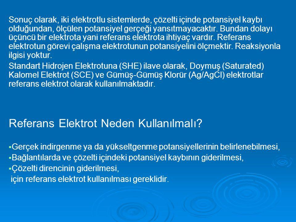 Referans Elektrot Neden Kullanılmalı