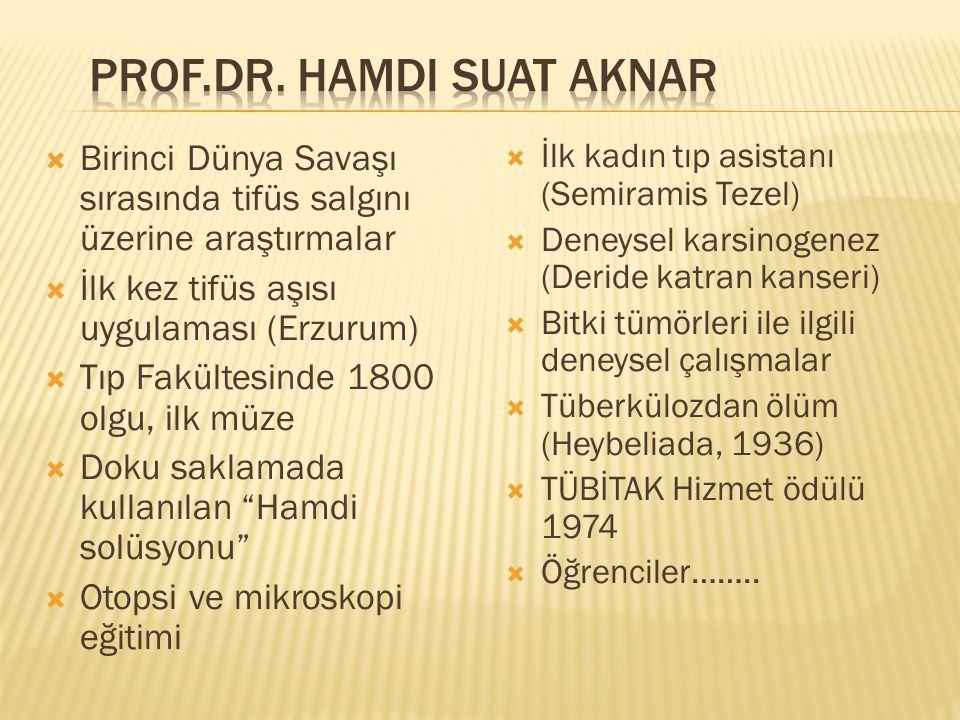 Prof.Dr. Hamdi Suat Aknar