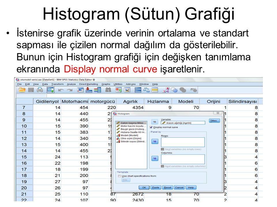 Histogram (Sütun) Grafiği