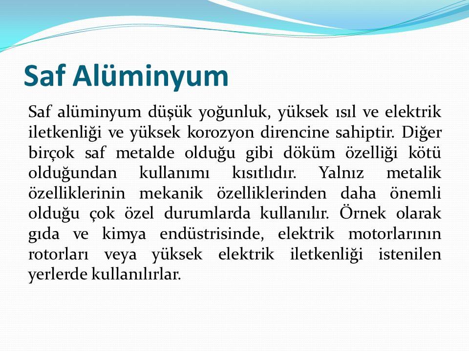 Saf Alüminyum