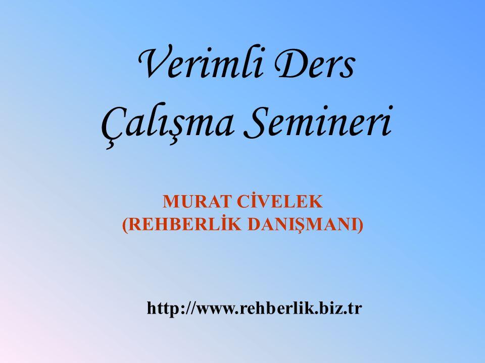 (REHBERLİK DANIŞMANI)