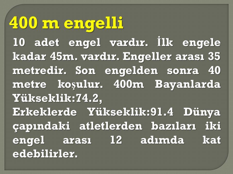 400 m engelli