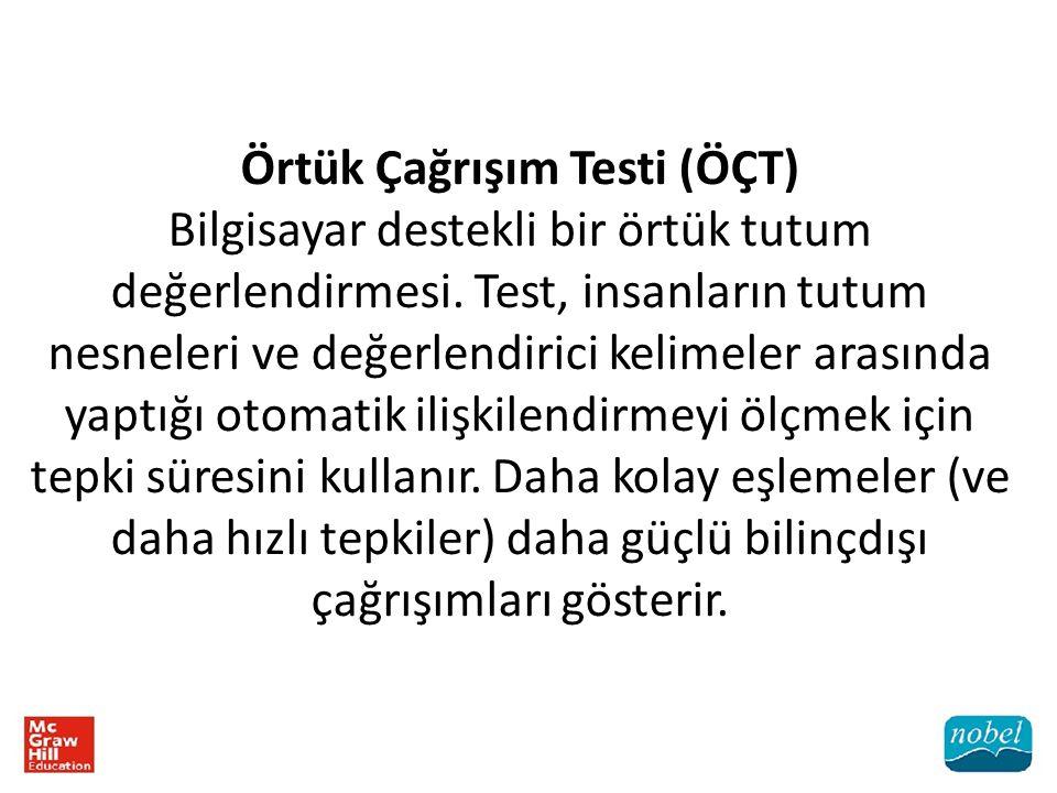 Örtük Çağrışım Testi (ÖÇT)